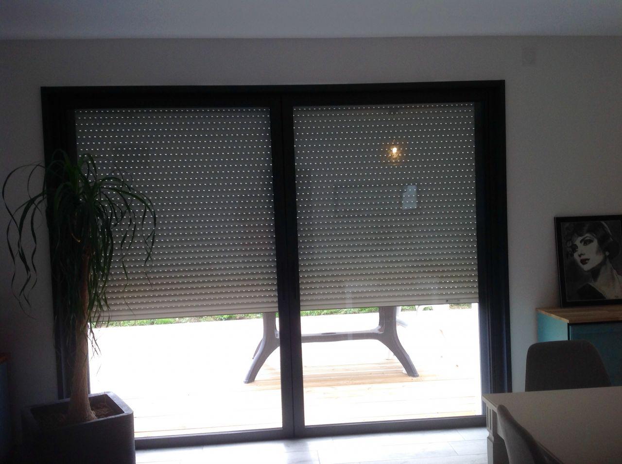 Rideau Sur Baie Vitrée pose barre de rideau devant baie vitrée - 8 messages