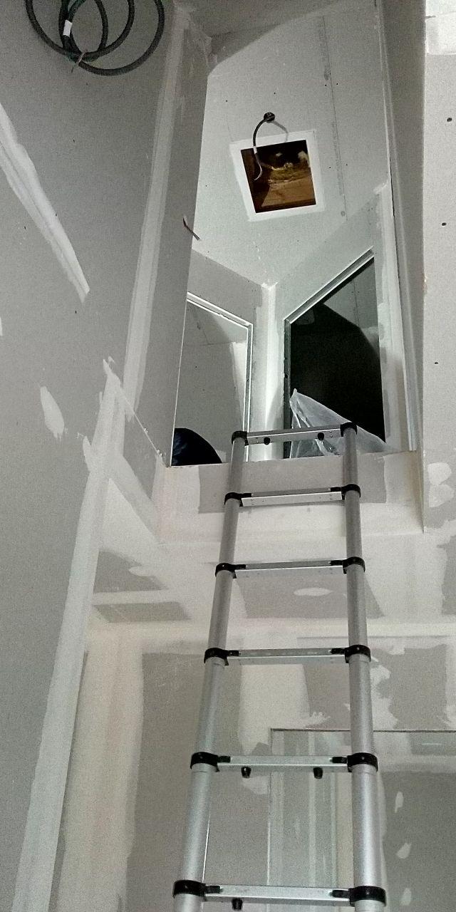 Vue étage et trappe