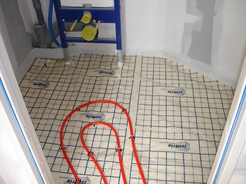 serpentin chauffage wc rdc