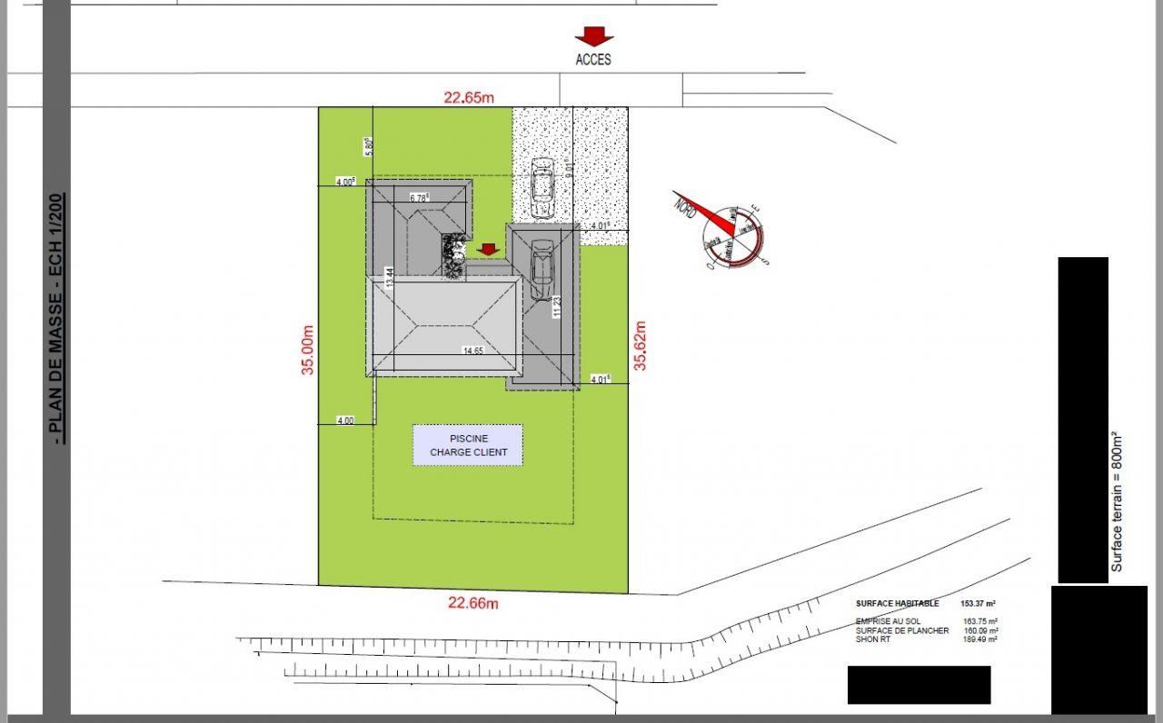 Plan de Masse Constructeur.