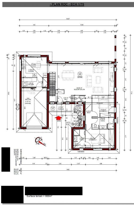 Plan RDC Constructeur
