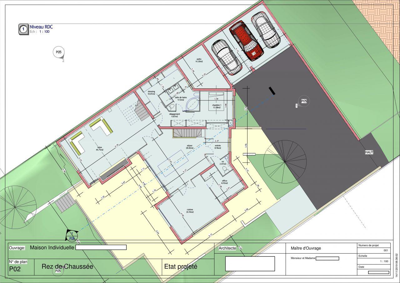 projet plan RDC au 16/11/19