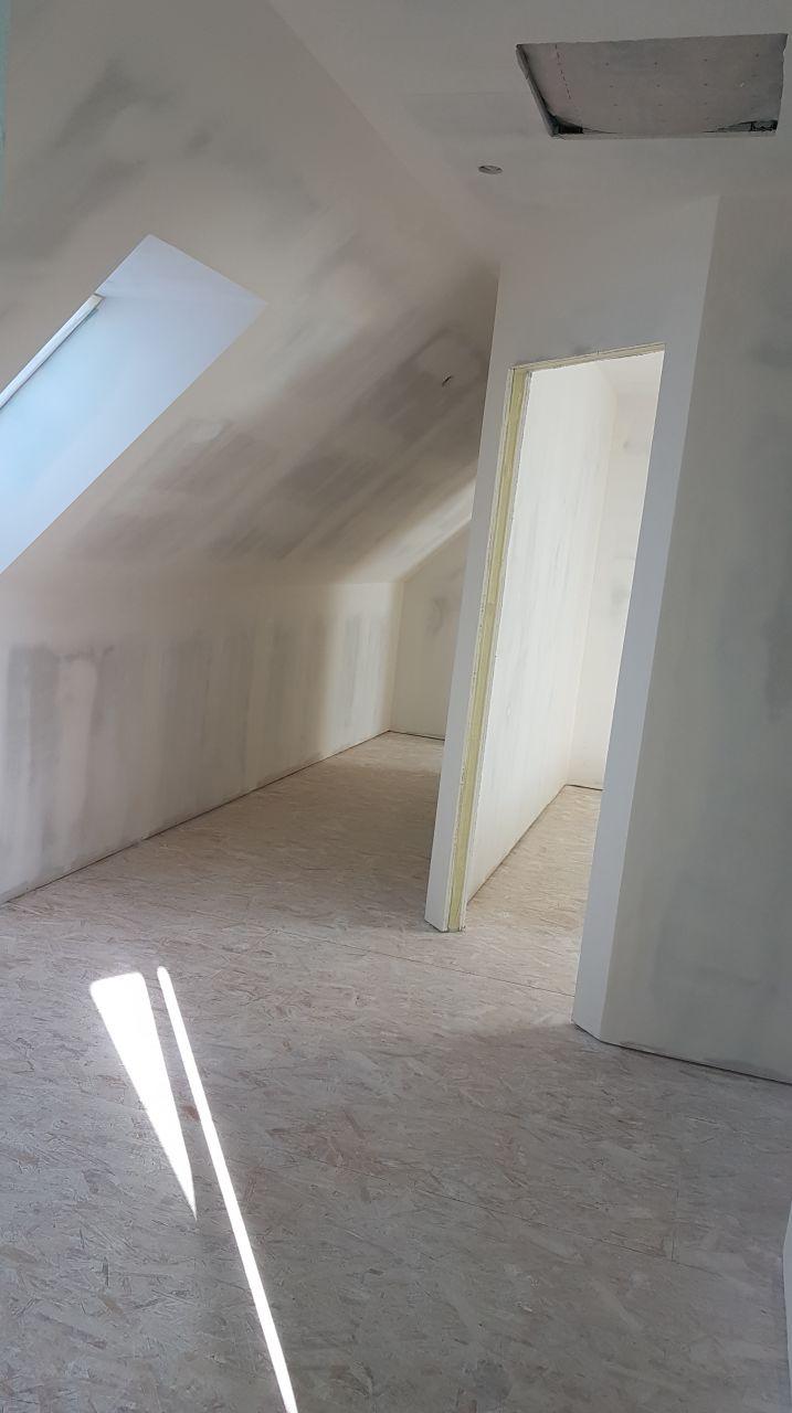 Vue couloir palier