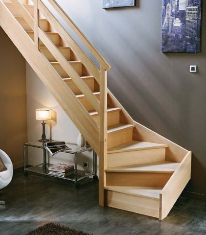 comment monter un escalier 1 4 tournant. Black Bedroom Furniture Sets. Home Design Ideas