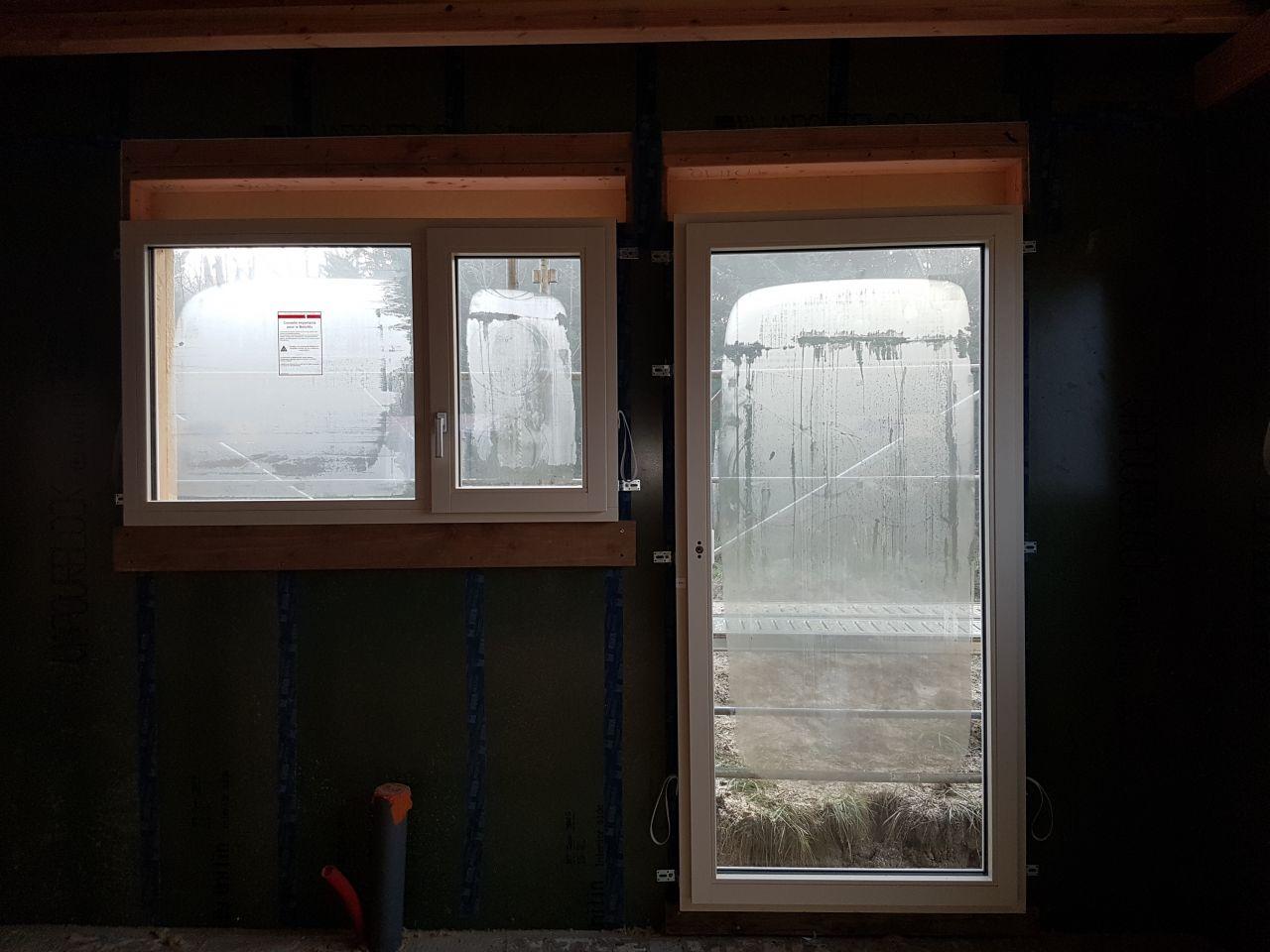 condensation extérieur sur menuiserie triple vitrage
