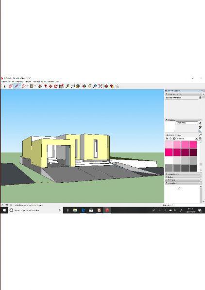 Un essai avec une maison sur plusieurs niveaux