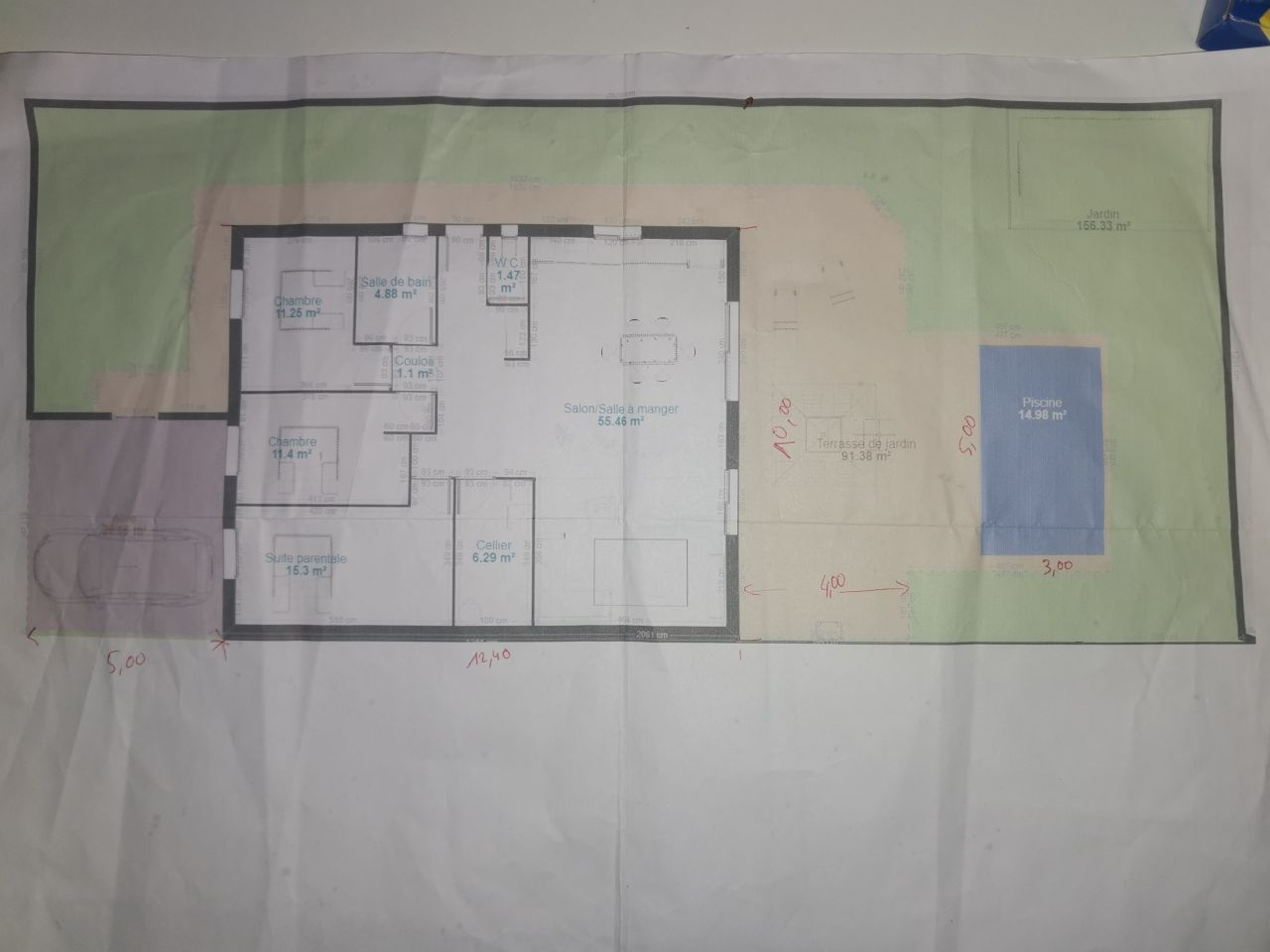 108 sans garage habitable