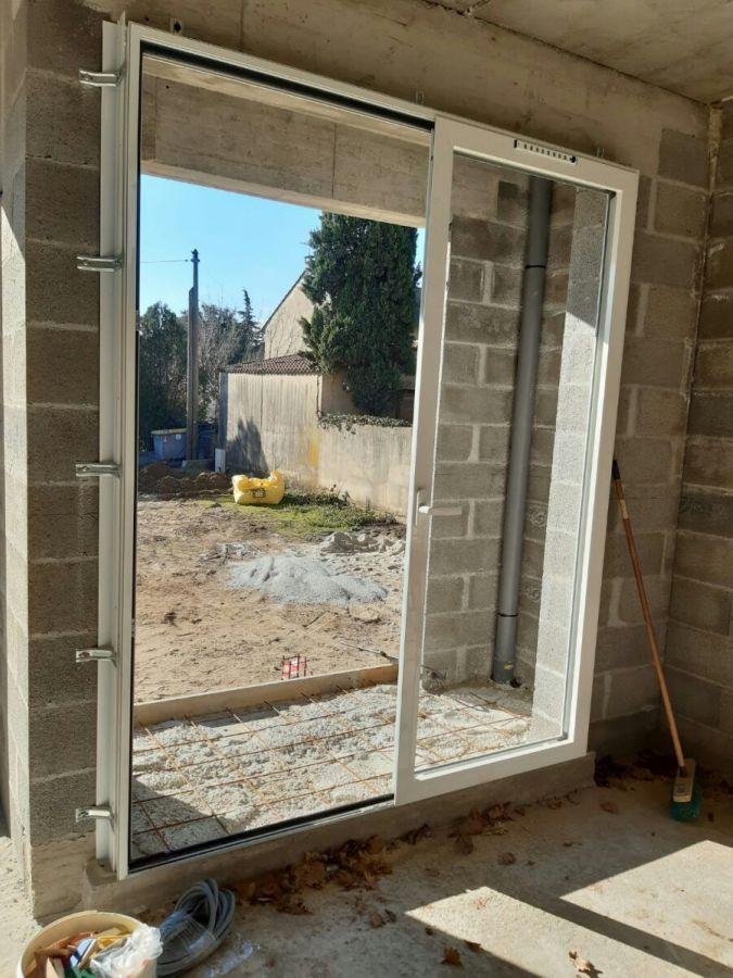 Porte fenêtre sud est