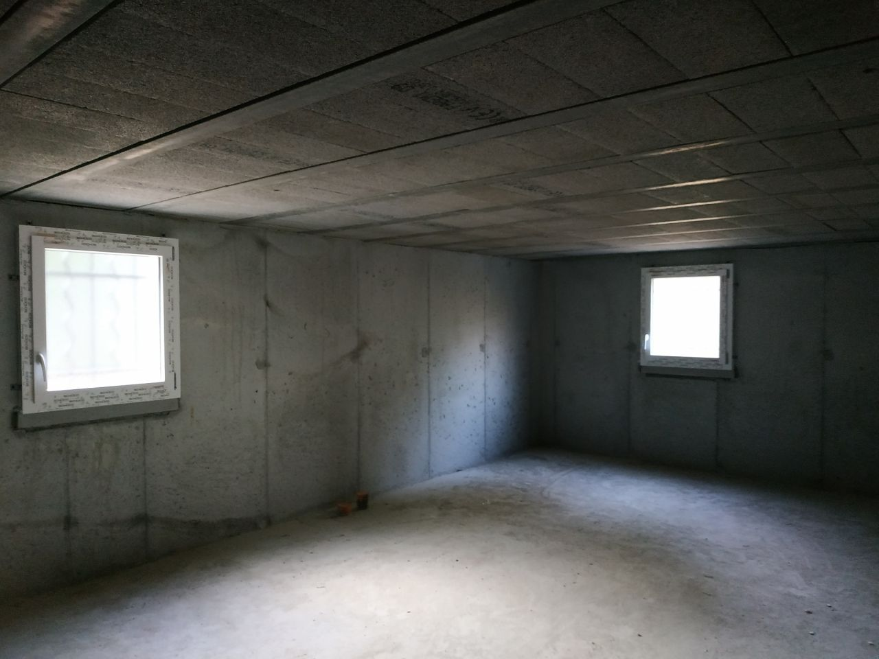 Fenêtres du garage ( oscillo-battantes ).