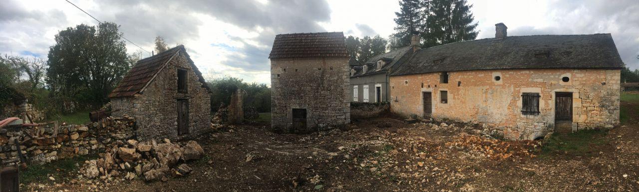Terrassement Cour Avant