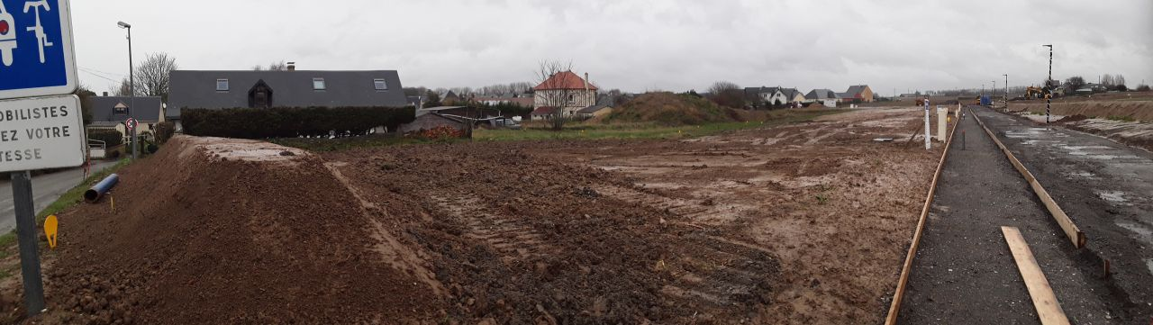 Preparation terrain vu panoramique 2