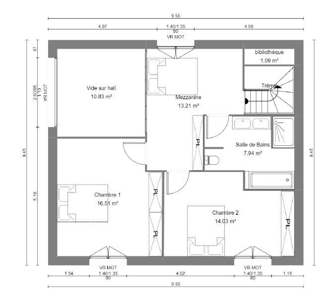 Plan De Maison A Etage 120m2 Infos Et Ressources 13