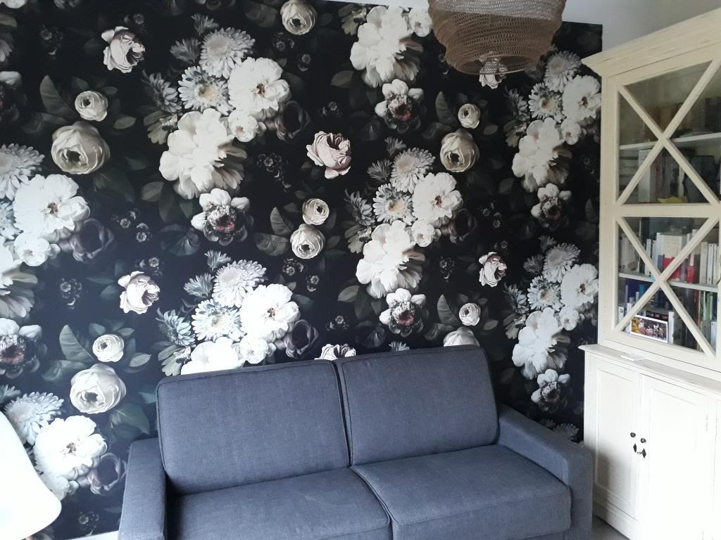 Family room... et papier peint (intissé)