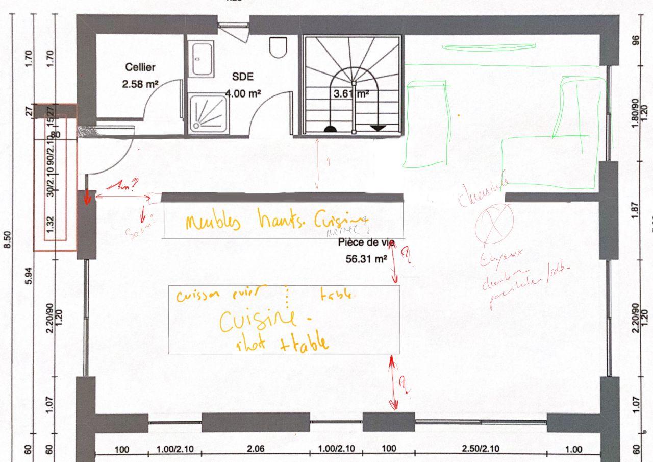 Plan RDC - Recherche de l'aménagement idéal
