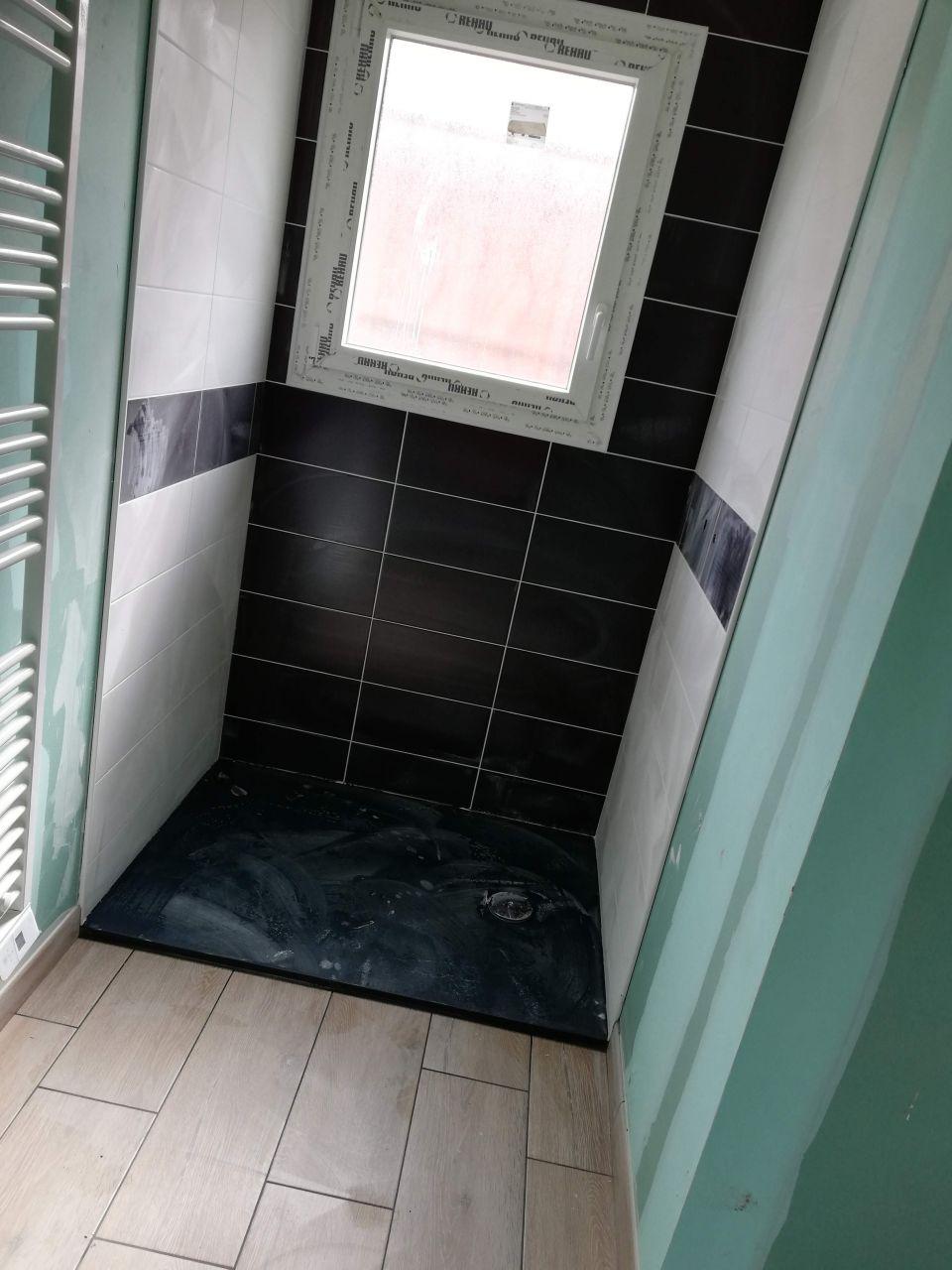 La douche de la suite parentale