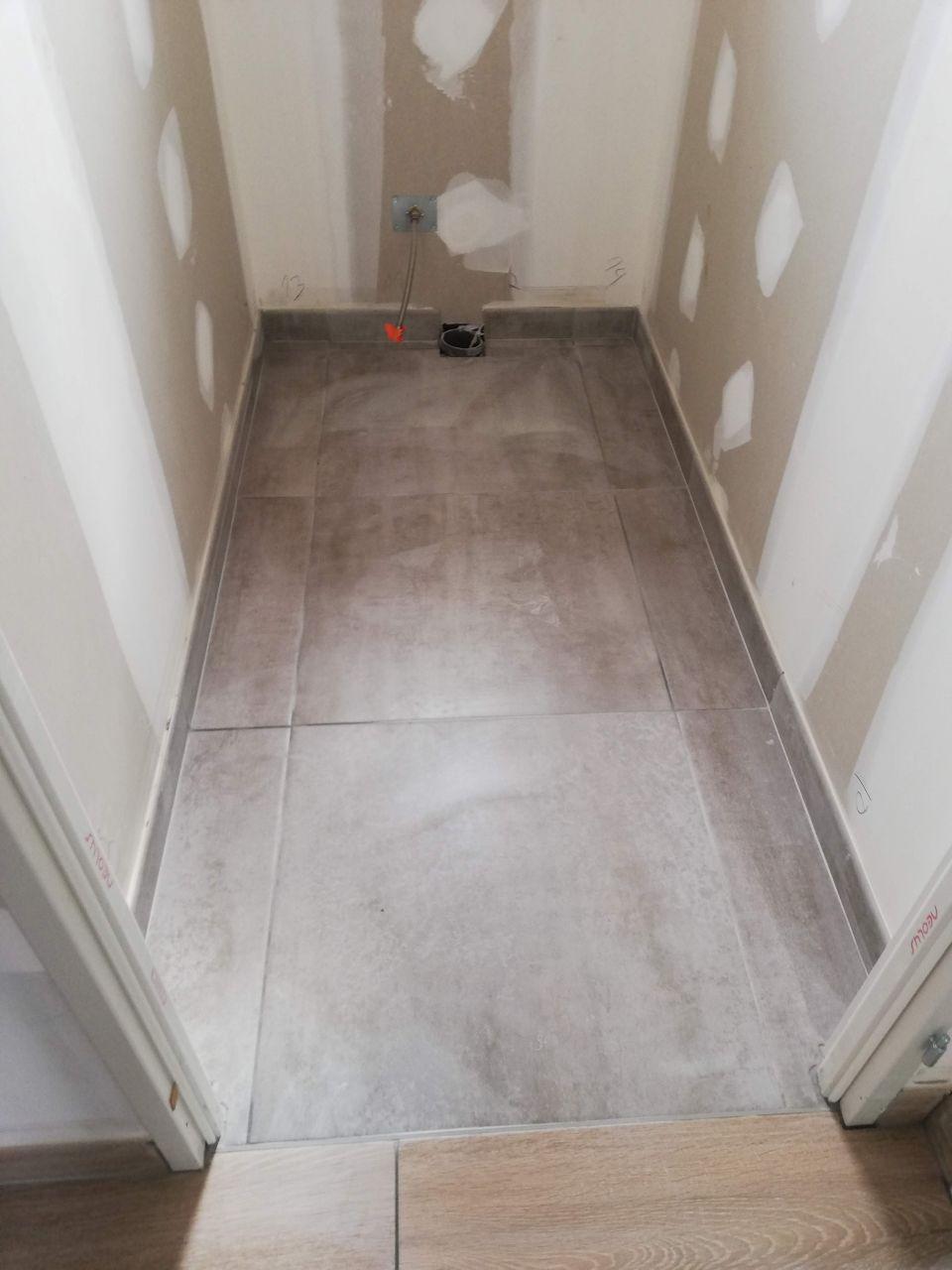 Les WC de l'étage