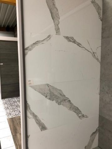 Carrelage mural douche italienne