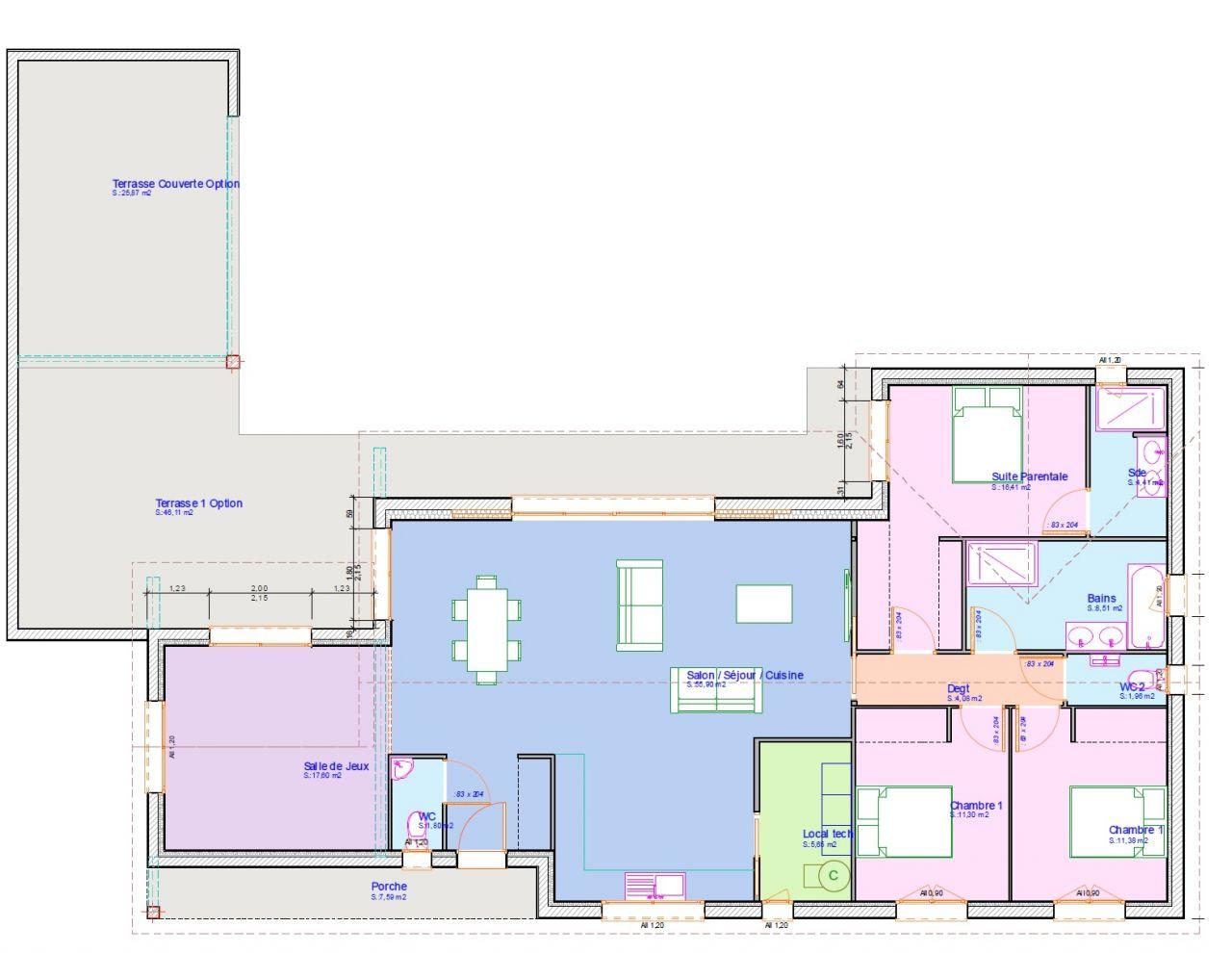 Nouveau plan maison