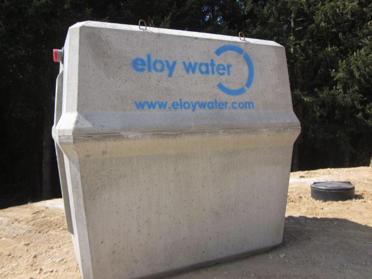 Installation de la micro station ELOY WATER Oxifix C-90 MB 5EH