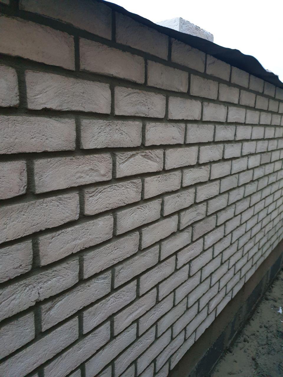 """brique moulée main """" créme """" de chez Vandersanden"""