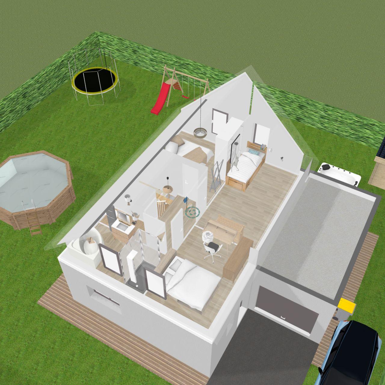 Vu 3D etage