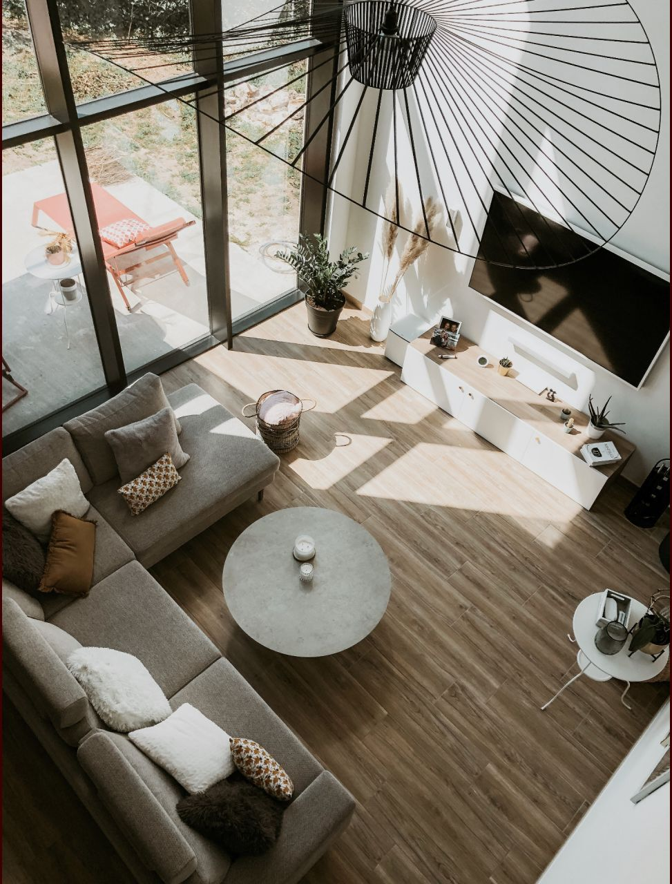 Salon - Vue Mezzanine