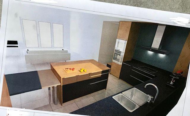 vue cuisine de l'interieur de l'arche