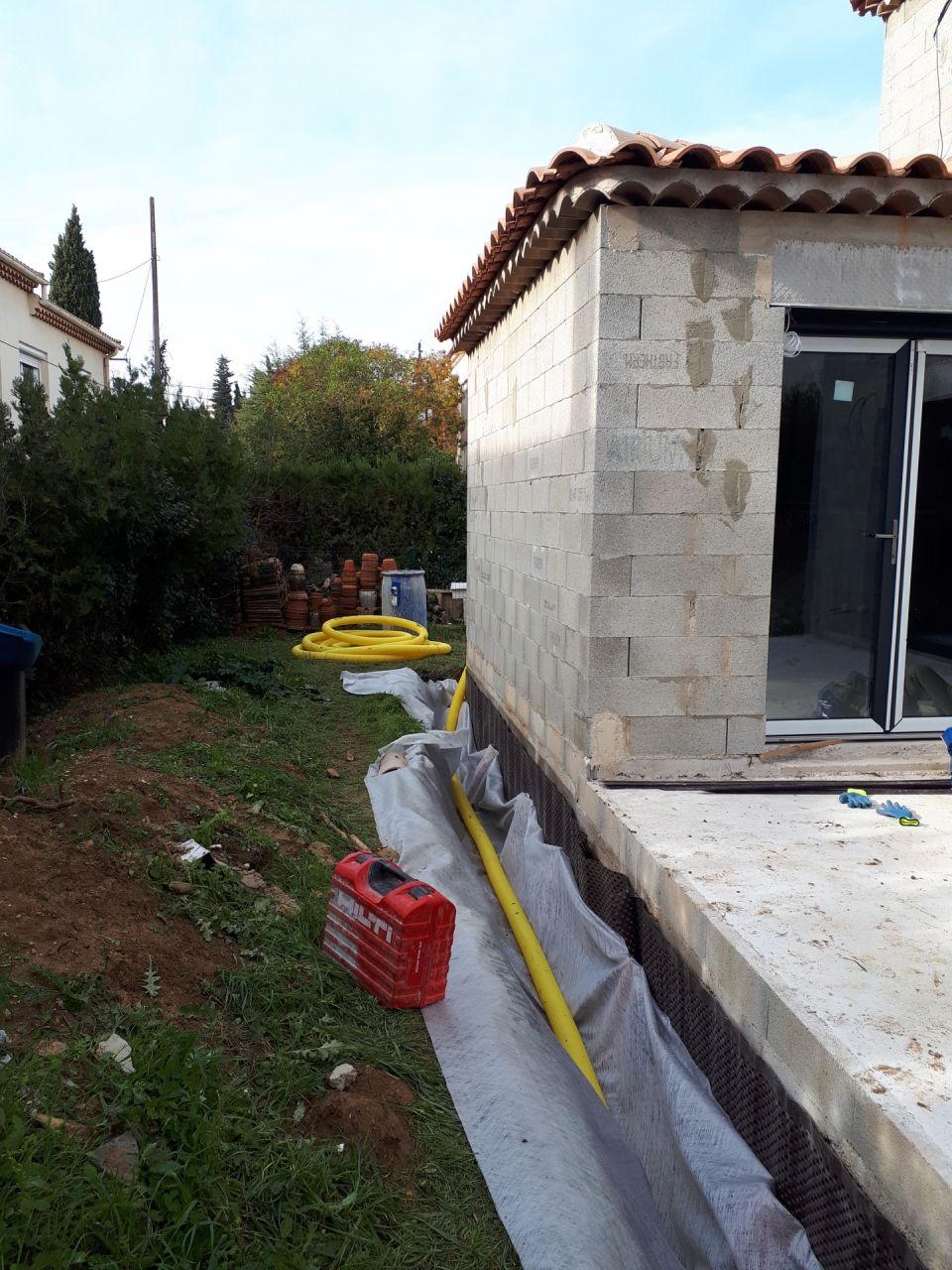 Mise en place du drain - erreur sur le type de drain