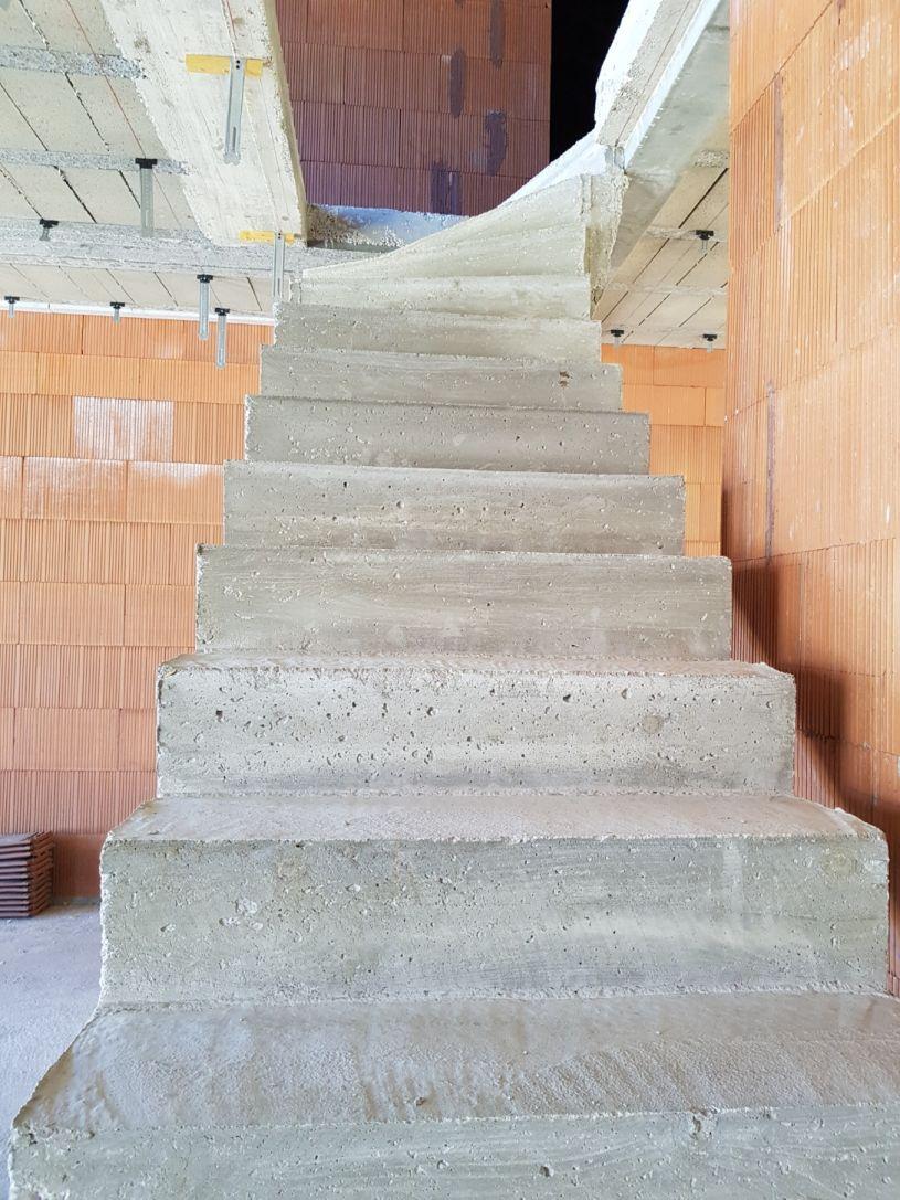 Escalier Béton