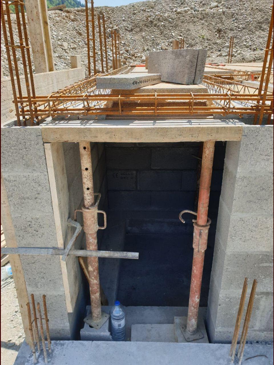 accès au vide sanitaire