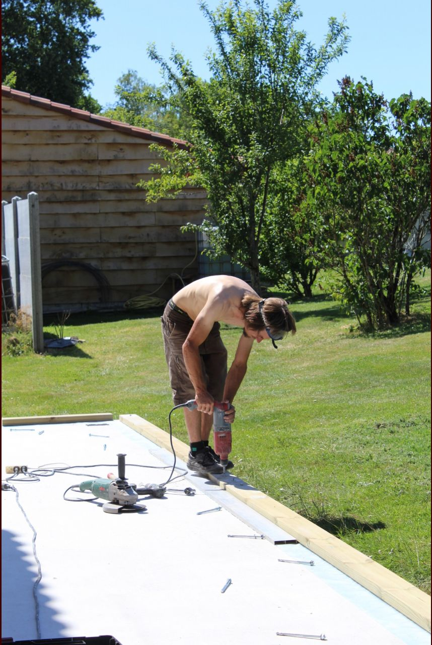 Lisse basse classe 4 pour mur garage