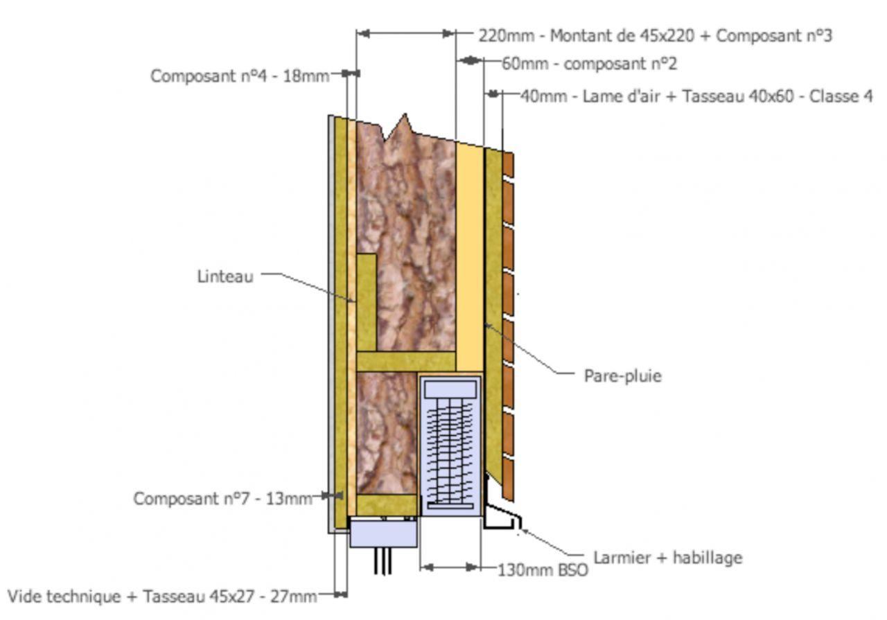Intégration du BSO dans le mur