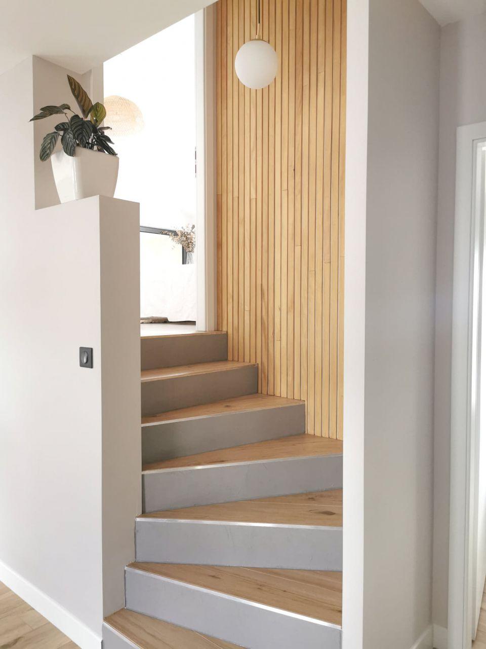 Escaliers après