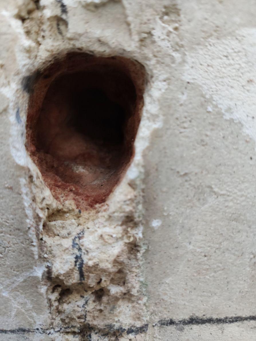 poteau sans portail attache basse
