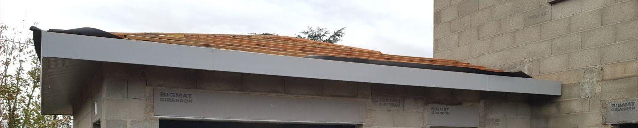 Rives de toit et débords