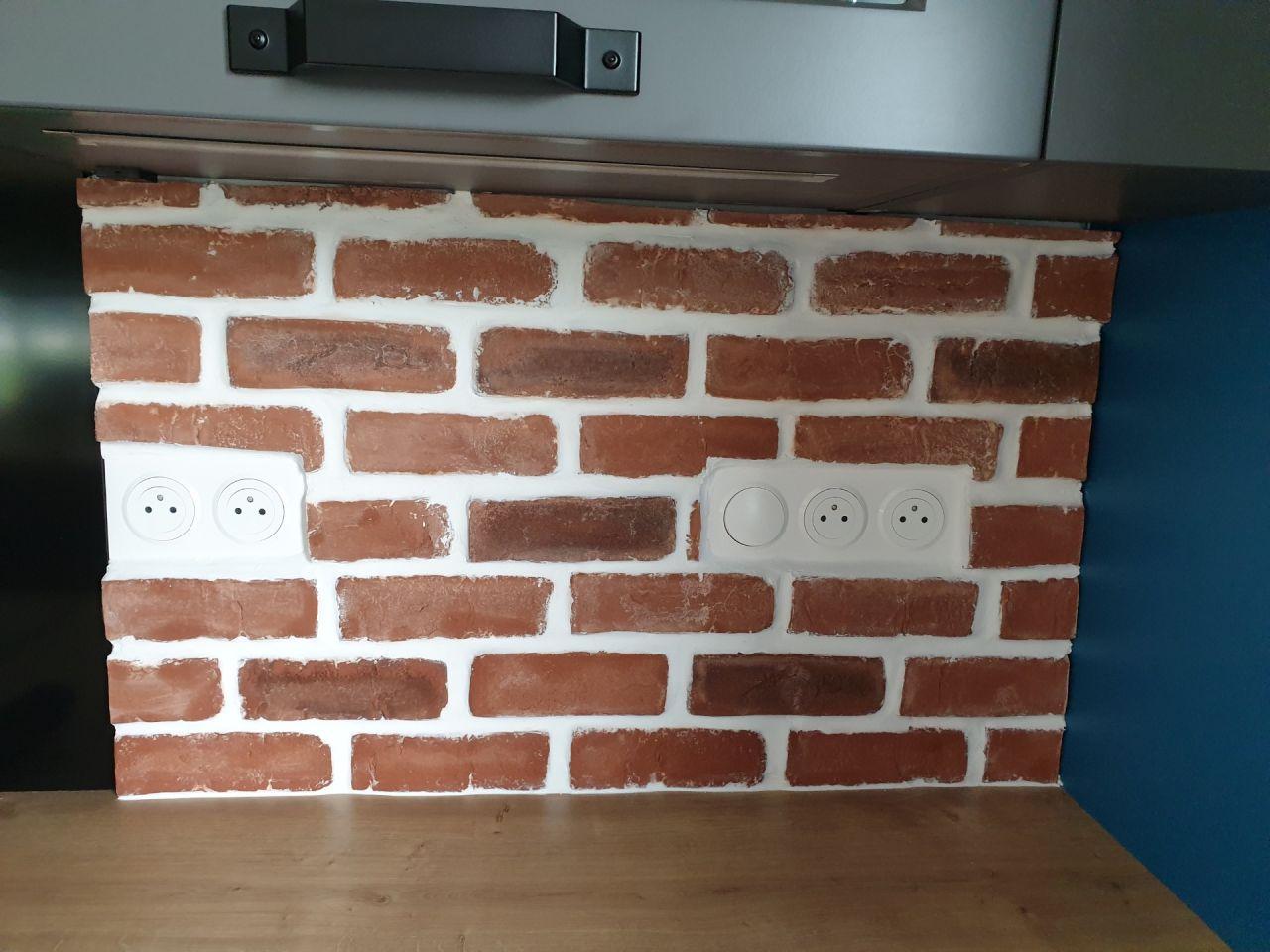 Joints sur briques