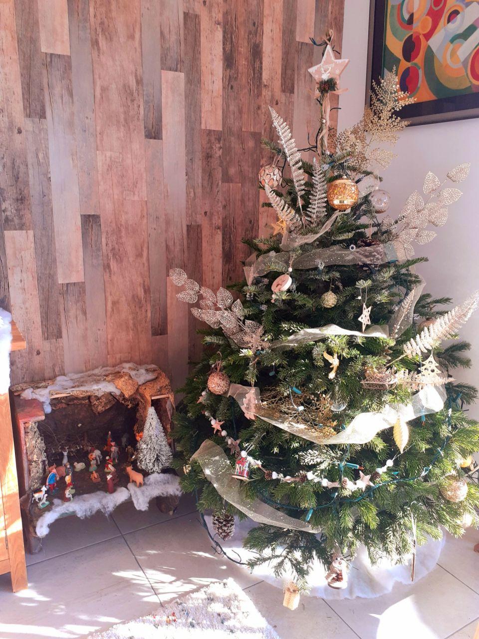 Noël  bois et doré