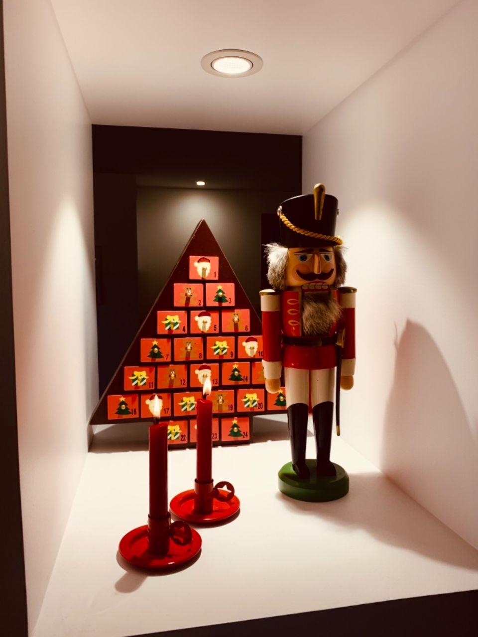 Nos niches se sont embellies pour Noël.