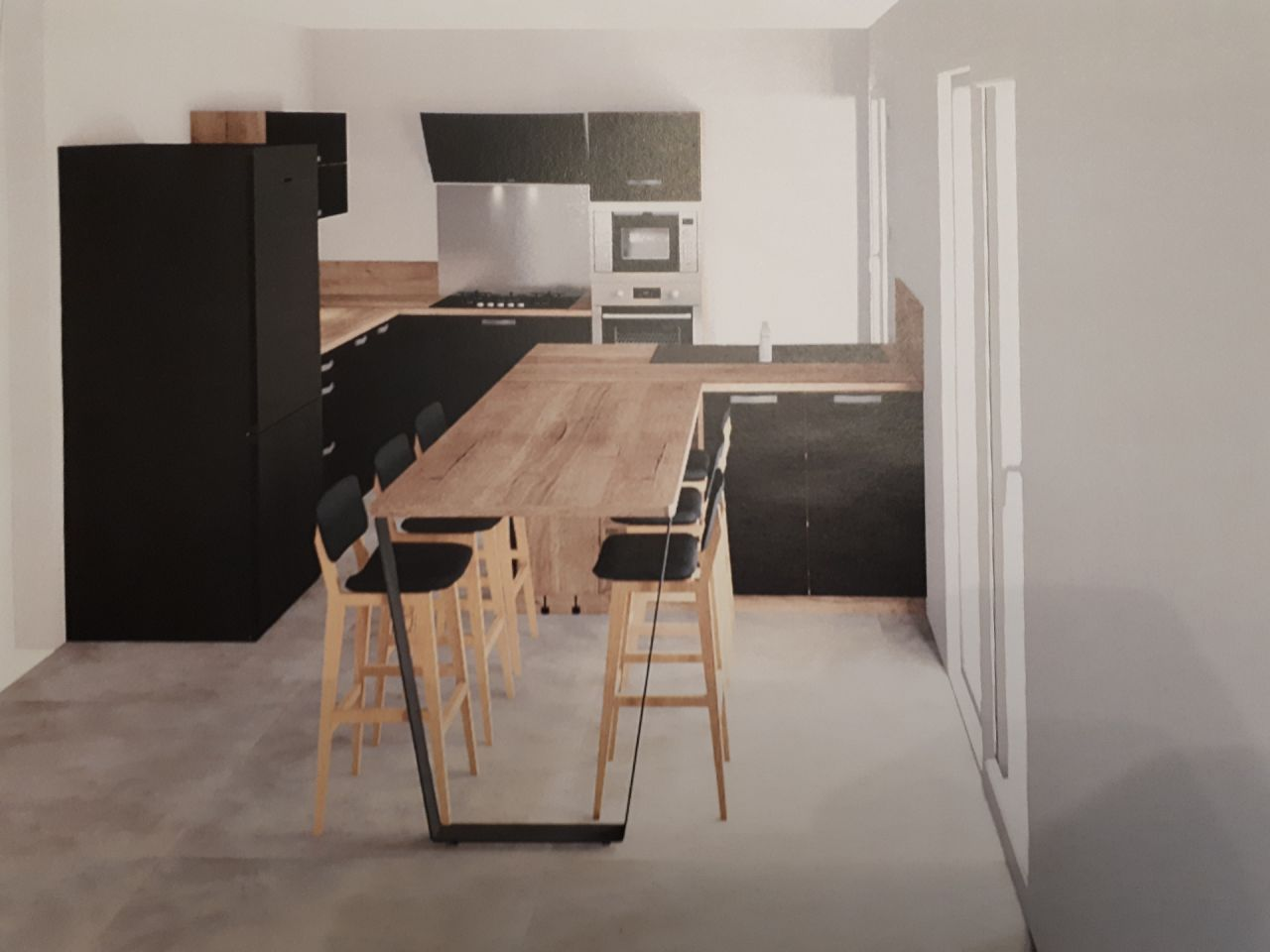projet de cuisine