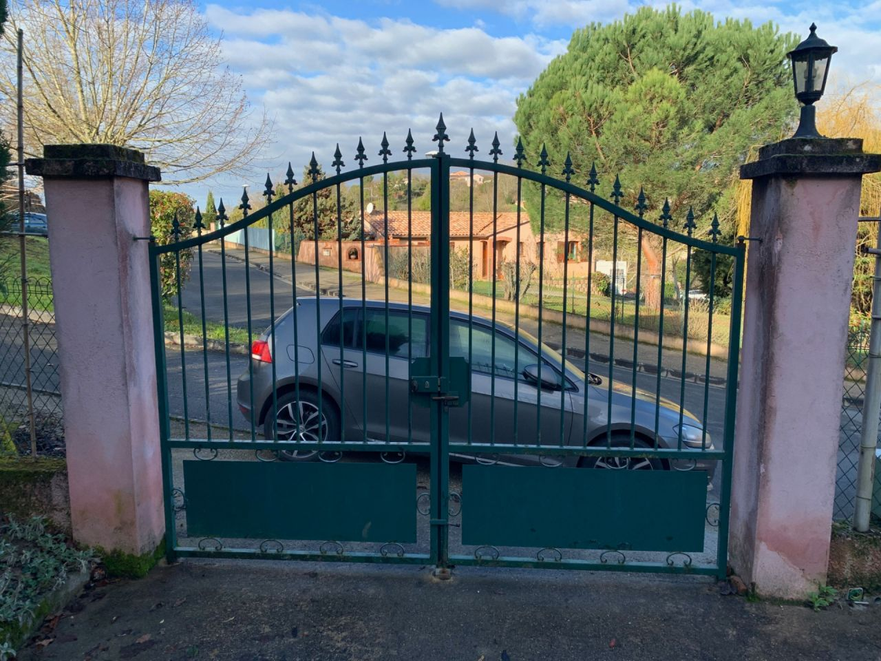 Photo portail existant.
