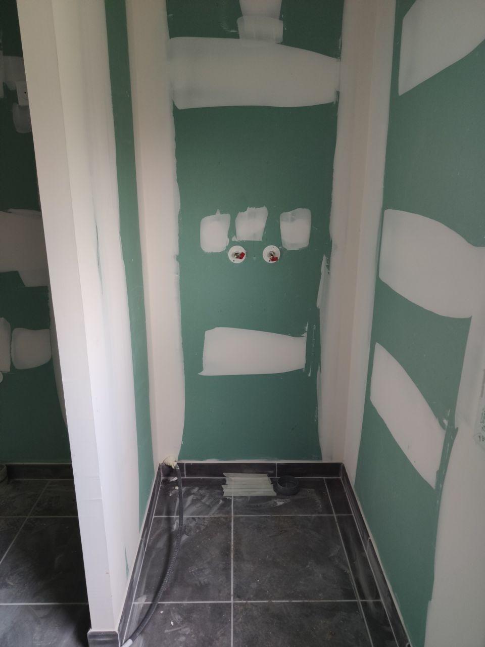 salle de bains, étage, zone douche
