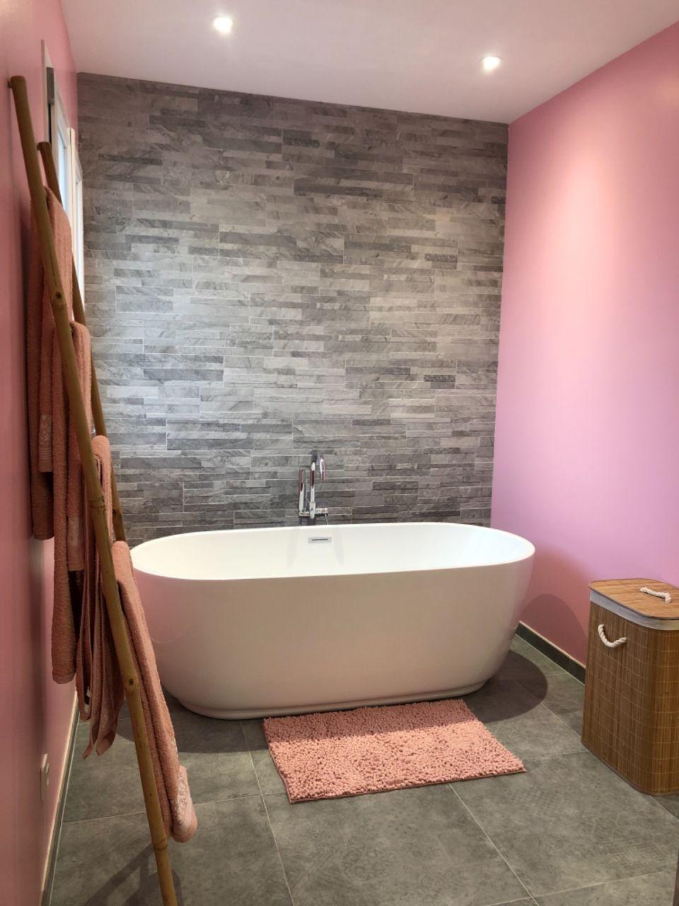 Salle de bain de l'étage enfin terminée
