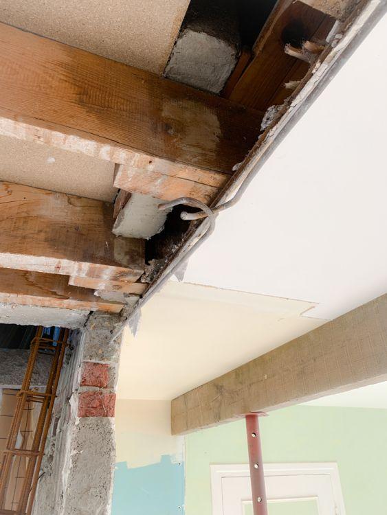 5- Le détail du chainage du mur porteur.