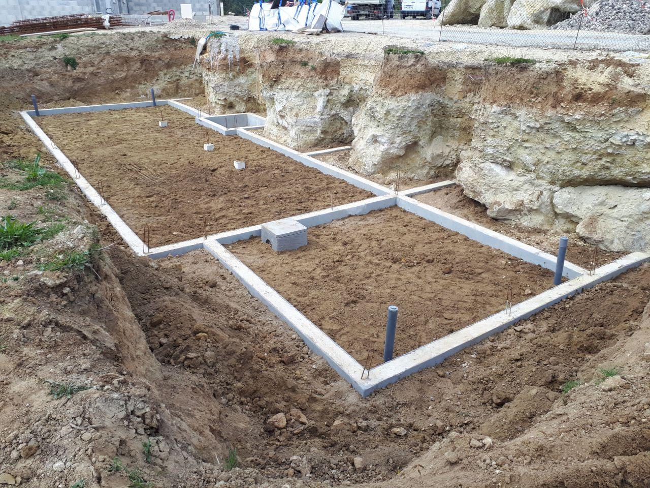 Voilà, drain en place et chantier laissé nickel par le terrassier