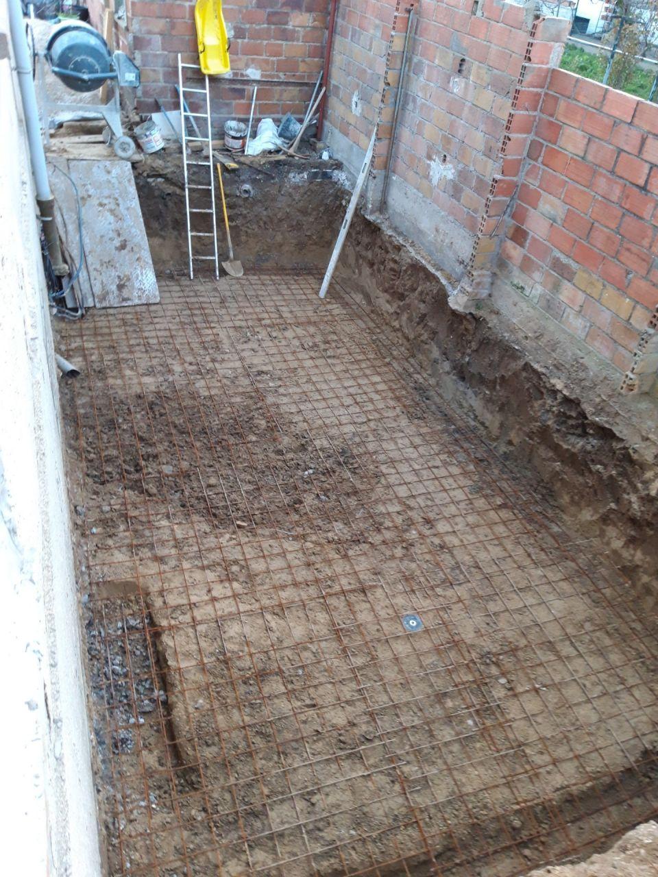 1- Ferraillage dalle sous sol semi enterré