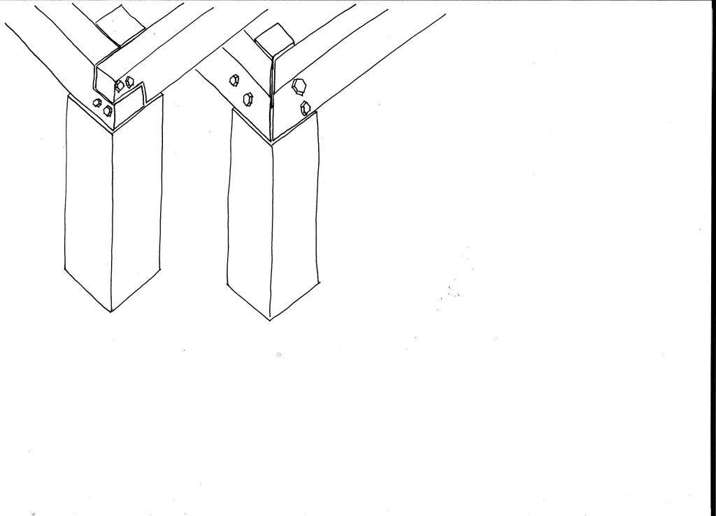 assemblage poutre sur poteau 5 messages. Black Bedroom Furniture Sets. Home Design Ideas