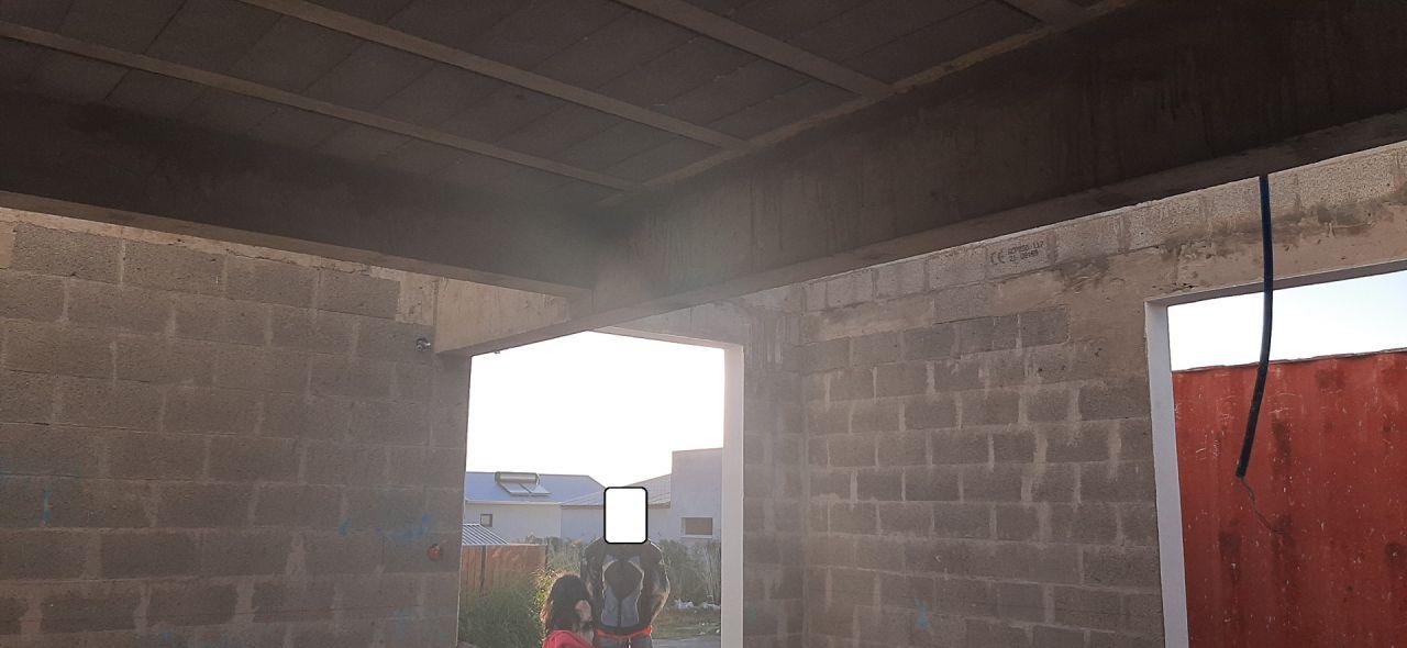 RDC avec poutres d'une hauteur de 60 cm ! :-(