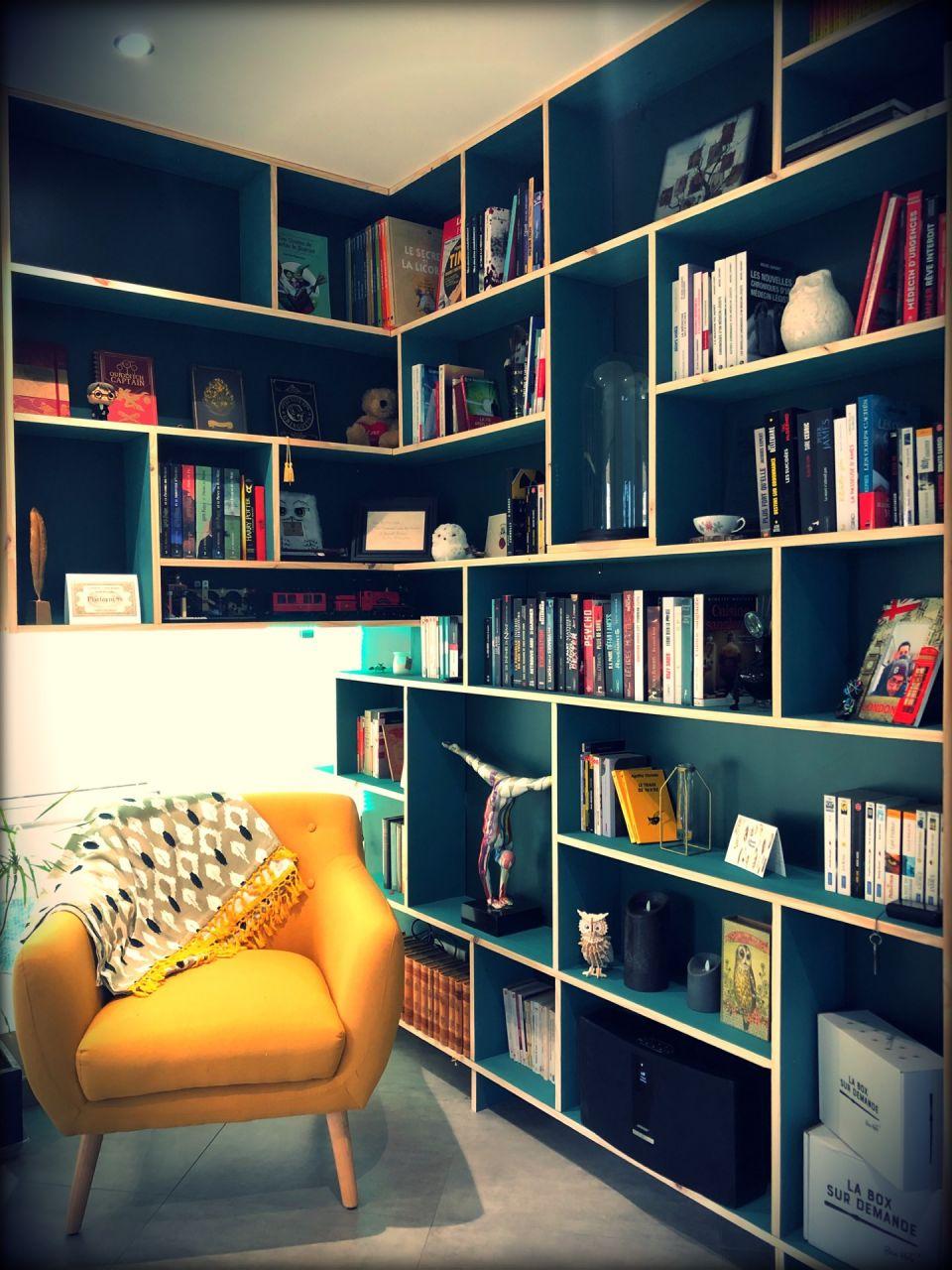 Bibliothèque terminée
