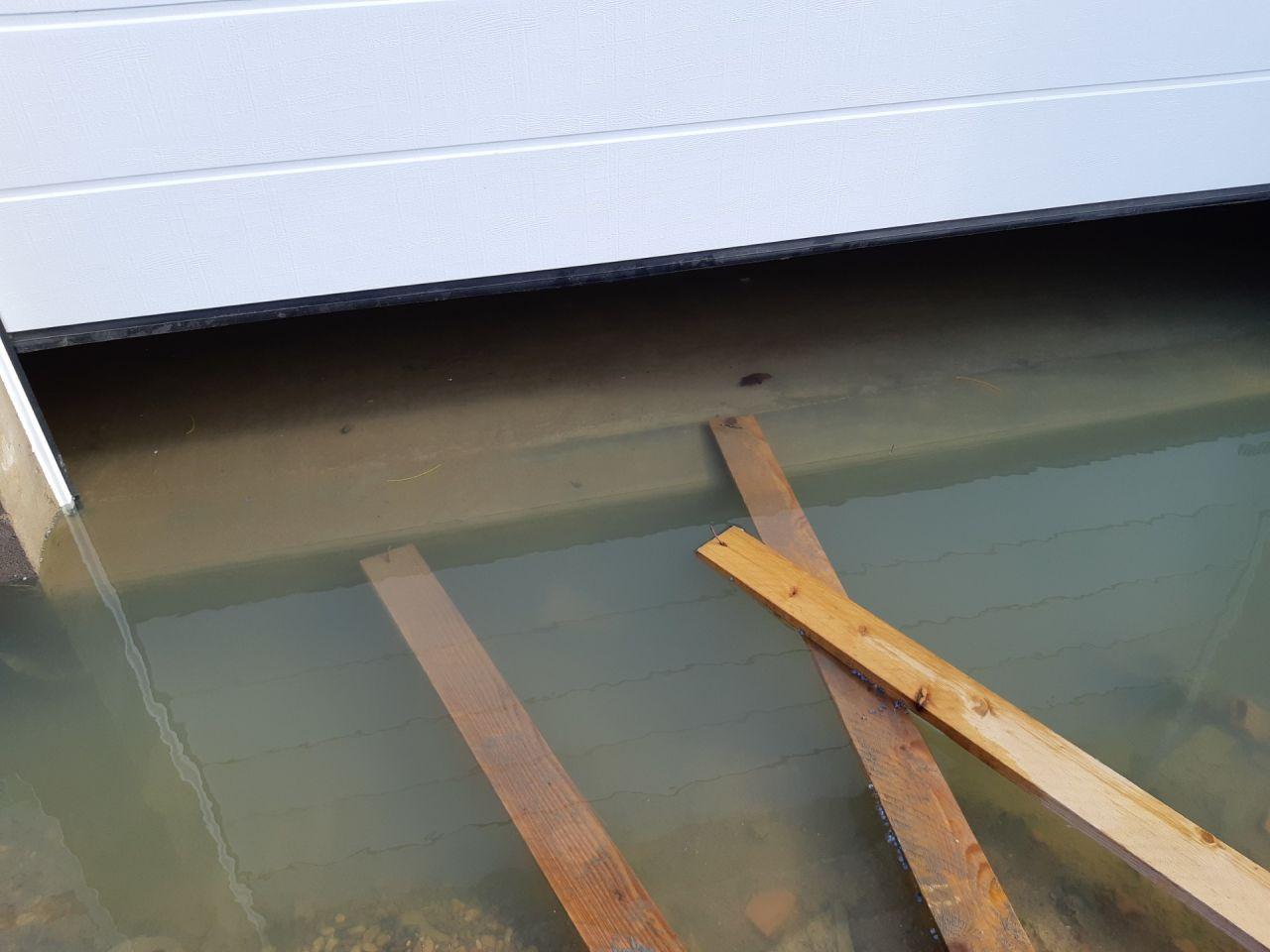 Le début des galères. La cave a été inondée 2 fois