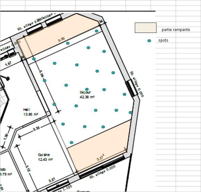 avis clairage spot plafond h 3 50 m 19 messages. Black Bedroom Furniture Sets. Home Design Ideas